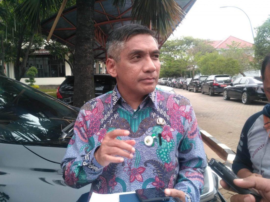 Sekretaris Dinas Kesehatan Kabupaten Bekasi, dr. Alamsyah. Foto: Sepri Parulian/Suara Bekasi Online
