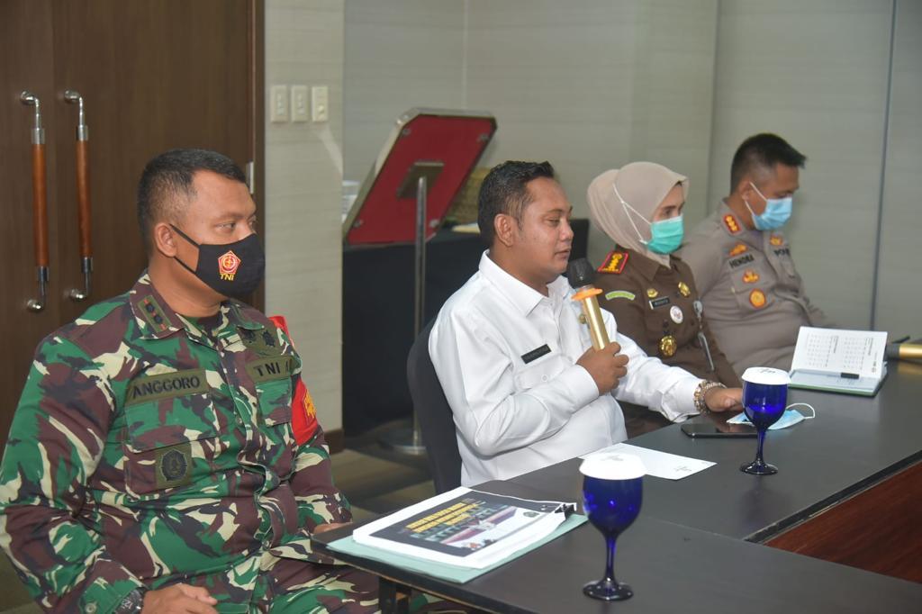 Rapat persiapan antisipasi banjir. Ist/Suara Bekasi Online