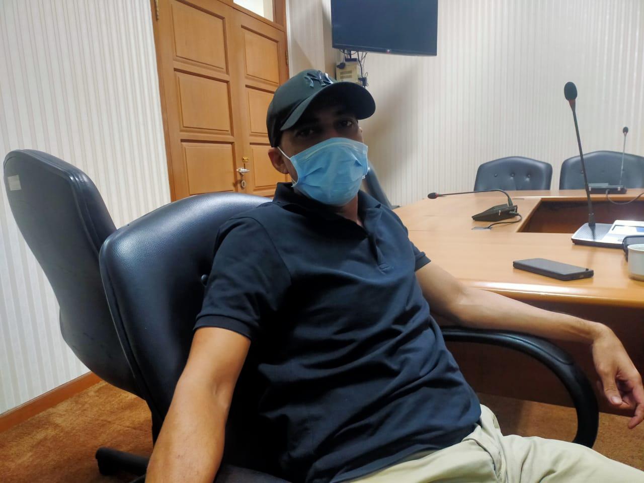 Sekretaris Fraksi Gerindra, Helmi. Ist/Suara Bekasi Online