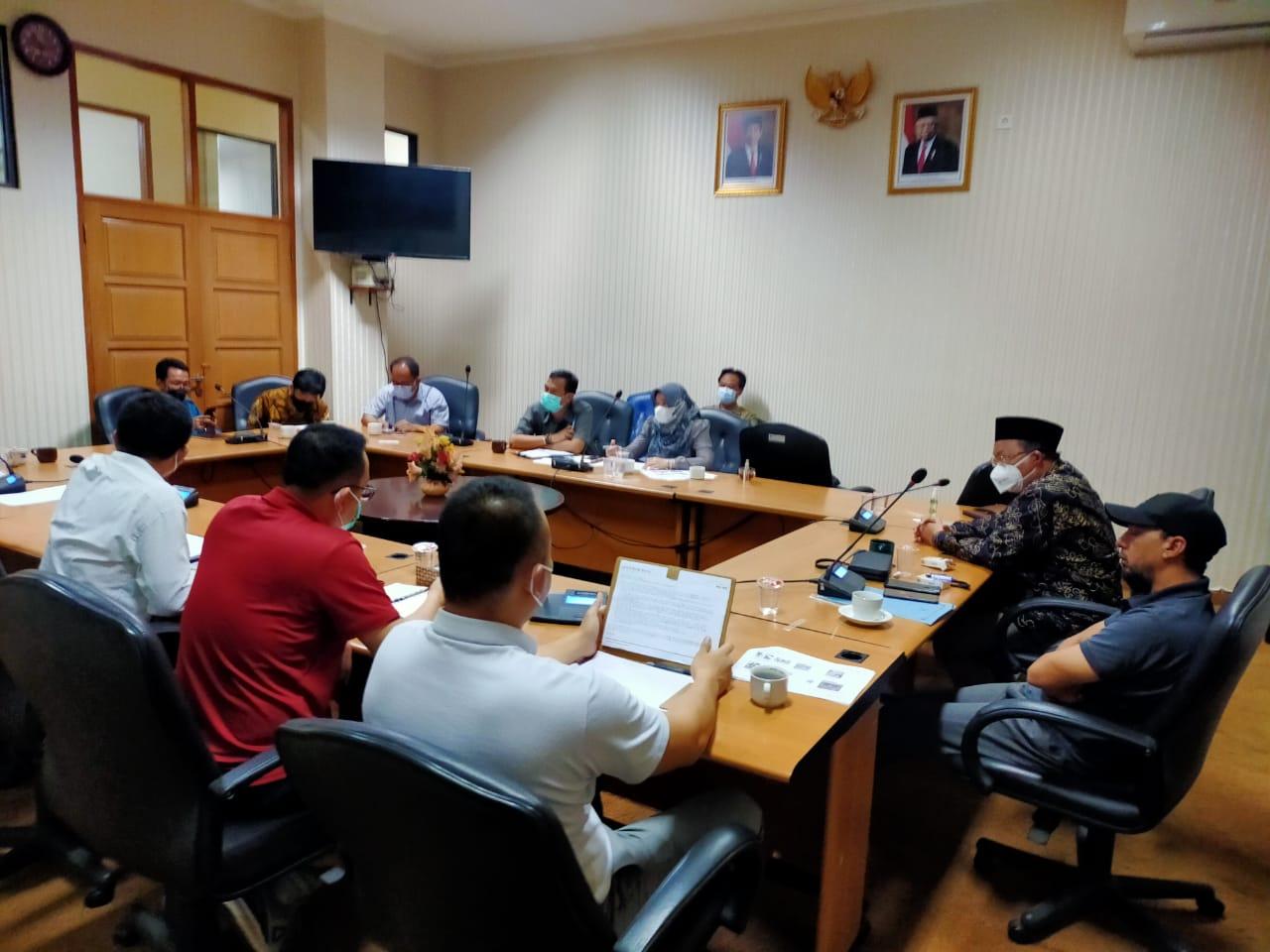 Rapat Komisi III DPRD Kabupaten Bekasi. Ist/Suara Bekasi Online